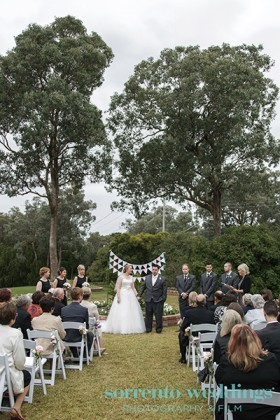 Mairead & Matthew - Wedding At A Private Residence Melbourne