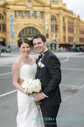 Rebekah & Adam - Wedding At 333 Collins Street and The Pumphouse Fitzroy