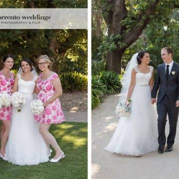 Andrea & Leigh- Wedding At Rippon Lea Estate