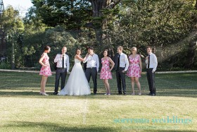 Andrea and Leigh - Wedding At Rippon Lea Estate
