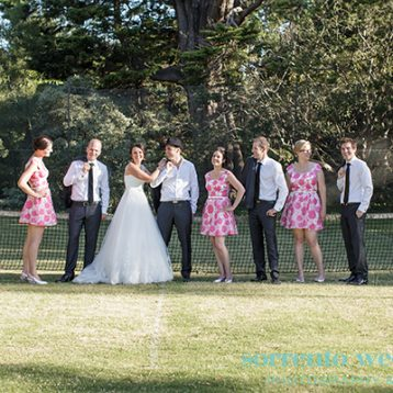 Andrea and Leigh – Wedding At Rippon Lea Estate