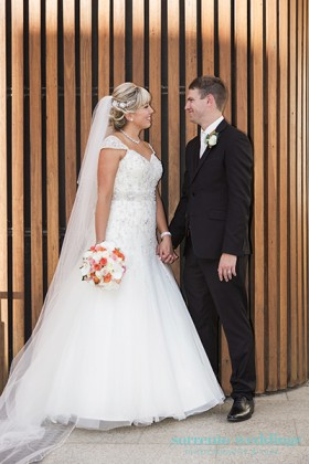 Chelsea & Shane- Wedding At Waterfront Venue Docklands