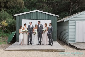 Kate & Ross - Wedding At The Baths Sorrento