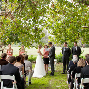 James and Sophie's Euroa Butter Factory Wedding.