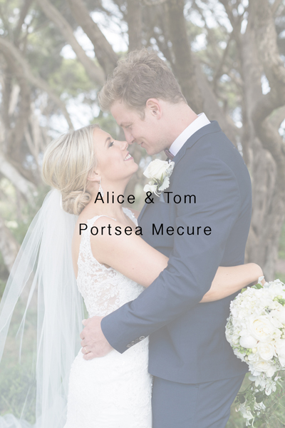 Alice & Tom – Portsea Mecure