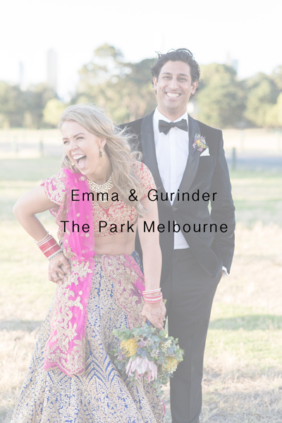 Emma & Gurinder – The Park Melbourne