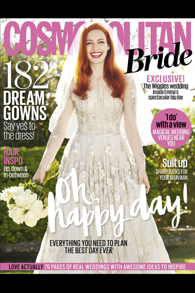 In the media – bridal magazine featured photographer