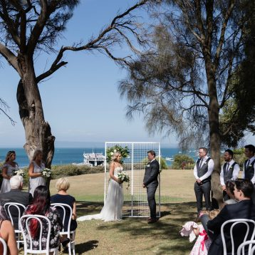Sorrento Hotel Wedding of Kristy and Chris
